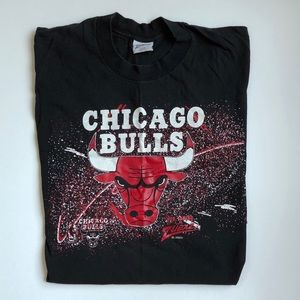90s Chicago Bulls Bob Lanier T-shirt by Zubaz Sz L
